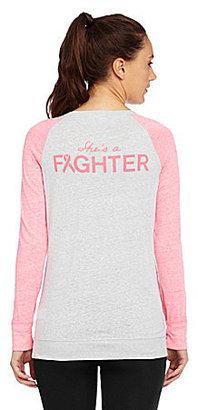 Under Armour Power In Pink Fighter Raglan Tee