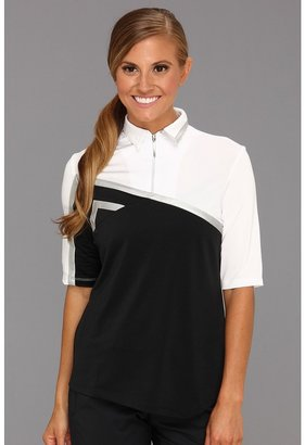 Jamie Sadock - Lynda Short Sleeve Top (Jet Black) - Apparel