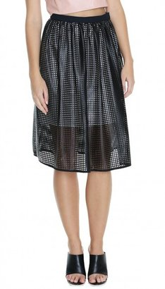 Tibi Pavement Full Skirt
