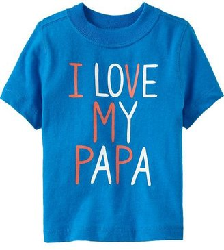 """Old Navy """"I Love My Papa"""" Tees for Baby"""