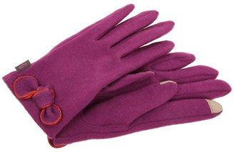 Echo Touch Bow Glove (Plum Wine) - Accessories