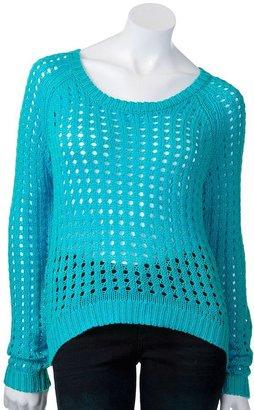 Rock & Republic open-work sweater