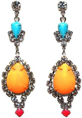 Tom Binns 'Riri' teardrop earrings
