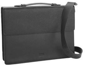 HUGO BOSS Slim Leather Briefcase