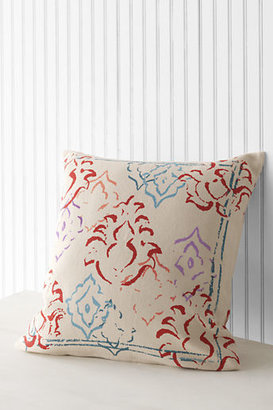 """Lands' End 20"""" x 20"""" Abstract Damask Decorative Pillow Cover"""