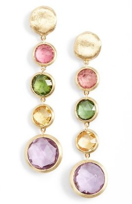 Women's Marco Bicego 'Jaipur' Semiprecious Stone Linear Earrings $856 thestylecure.com