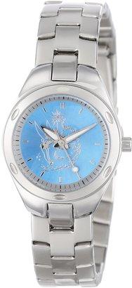 EWatchFactory Disney Women's 59006-8 Stainless Steel Tinker Bell Watch