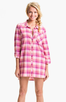 Make + Model 'In the Woods' Flannel Nightshirt