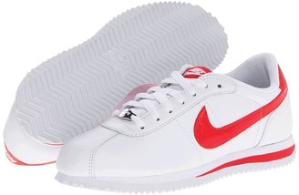 Nike Cortez Leather '06 (White/Fusion Red) - Footwear
