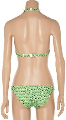 Diane von Furstenberg Adisa printed bikini briefs