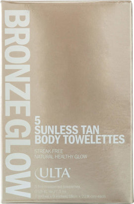 ULTA Bronze Glow Sunless Tan Body Towelettes $9.99 thestylecure.com