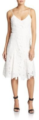Embroidered Lace Tank Dress $310 thestylecure.com