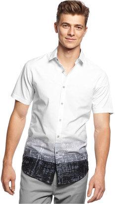 INC International Concepts Shirt, Long Sleeve Maester Slim Fit Shirt
