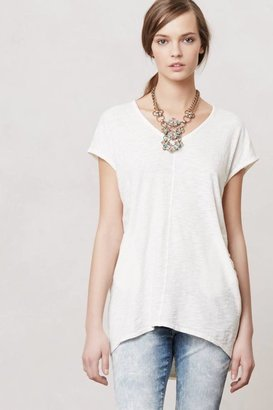 Anthropologie Seamed High-Low Tee