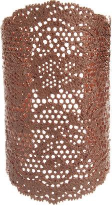 Aurelie Bidermann Rose Gold Vintage Lace Cuff