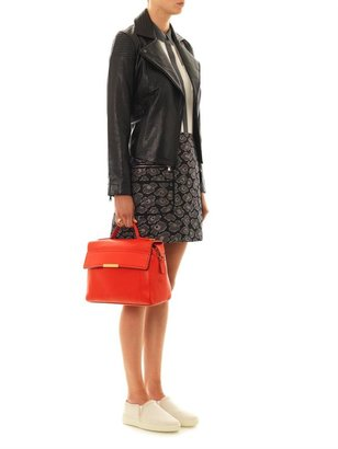 Marc by Marc Jacobs Karlie leather motorcycle jacket