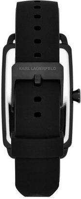 Karl Lagerfeld 'Kourbe' Rectangular Watch, 32mm x 48mm