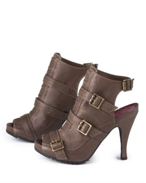 Juicy Couture Nakia Ankle-Wrap Bootie