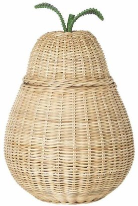 ferm LIVING Large Braided Pear Storage Basket