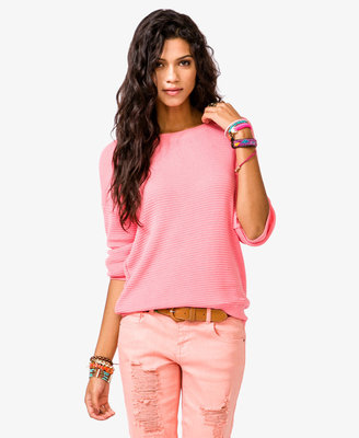 Forever 21 Textured Dolman Sweater