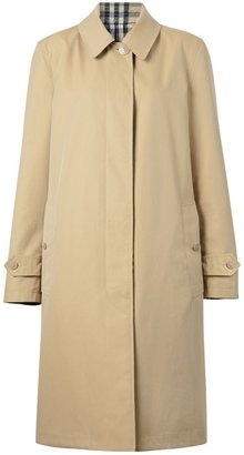 Burberry Reversible Cotton And Recycled Polyester Car Coat