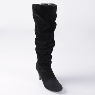 Journee Collection slouch tall boots - women