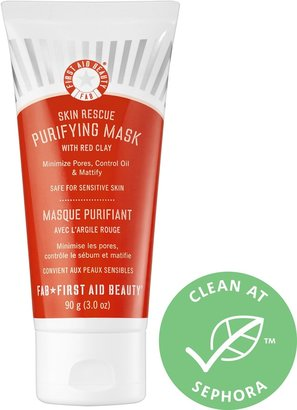 First Aid Beauty Skin Rescue Purifying Mask With Red Clay