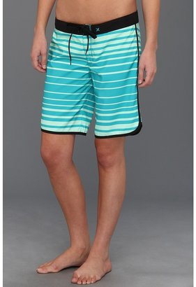 Hurley Supersuede Printed 9 Beachrider (Juniors) (Seafoam) - Apparel