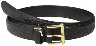 Lauren Ralph Lauren 1 Faux Stingray Belt (Black) Women's Belts