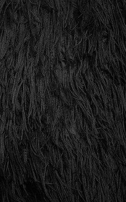 Peter Som Fringe Pencil Skirt