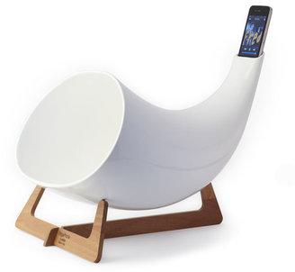en&is Megaphone iPhone Amplifier White