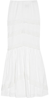 ALICE by Temperley Nina cotton-blend skirt