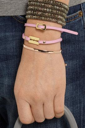 McQ by Alexander McQueen Razor leather bracelet