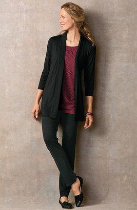 J. Jill Wearever pleat-back jacket