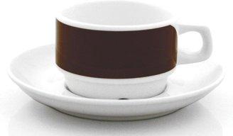 notNeutral Links Brown Cup & Saucer Set