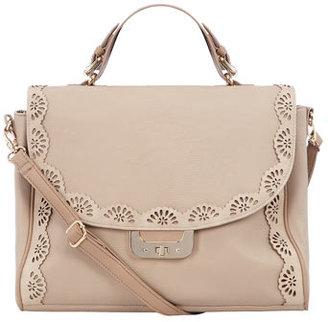Dorothy Perkins Blush scallop edge satchel