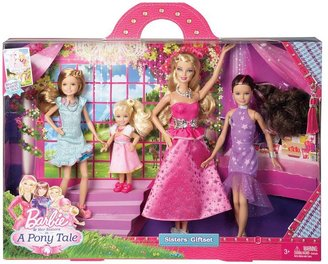 Mattel Barbie & her sisters in a pony tale sisters' gift set