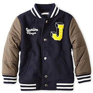 Joe Fresh Joe FreshTM Varsity Jacket - Boys 2t-5t