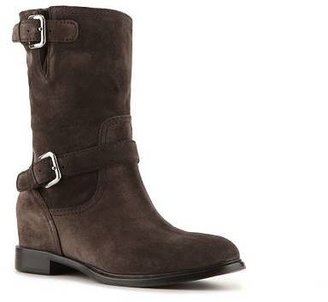 Prada Suede Buckle Boot