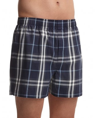 Burberry Check Woven Boxers