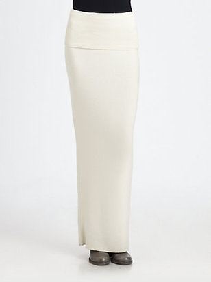 Donna Karan First Layer Cashmere Skirt