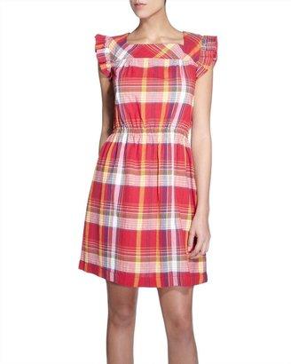 Jaeger Mollie Frill Dress