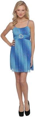 Emerald Sundae Junior's Sleeveless Party Dress