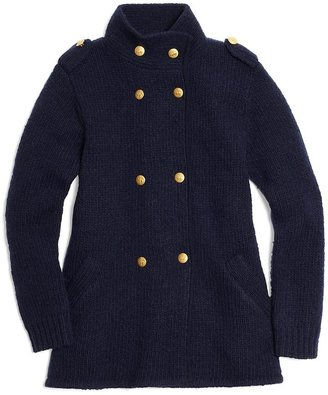 Brooks Brothers Wool Chunky Double-Breasted Jacket