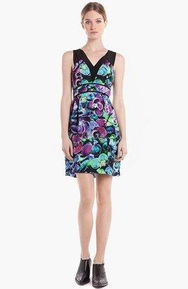 Sandro 'Raisin' Silk Sheath Dress