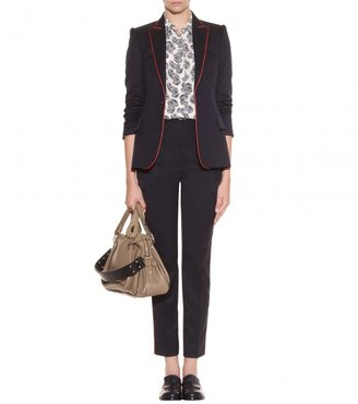 Stella McCartney TAILORED BLAZER WITH CONTRAST PIPING