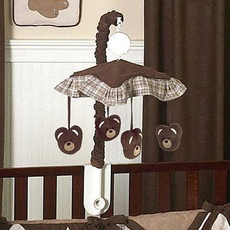 JoJo Designs Sweet Chocolate Teddy Bear Collection Musical Mobile