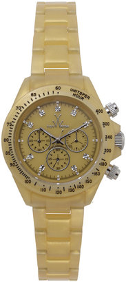 Toy Watch Plasteramic Chronograph, Gold