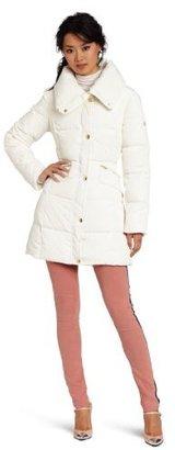 Jessica Simpson Women's 3/4 Length Down Puffer Coat