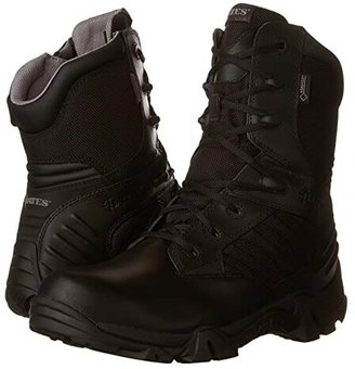 Bates Footwear GX-8 GORE-TEX(r) Side-Zip (Black) Men's Work Boots